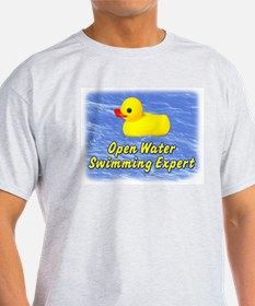 Open Water Swimming Expert Duck T-Shirt