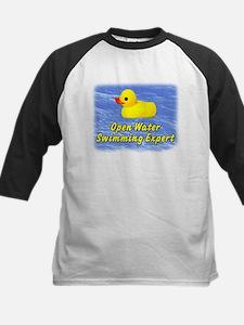 Open Water Swimming Expert Duck Kids Baseball Jers