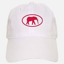 Alabama Red Elephant II Baseball Baseball Cap
