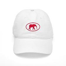 Alabama Red Elephant II Baseball Cap