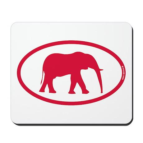 Alabama Red Elephant II Mousepad