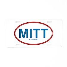 MITT - Mitt Romney 2012 Aluminum License Plate