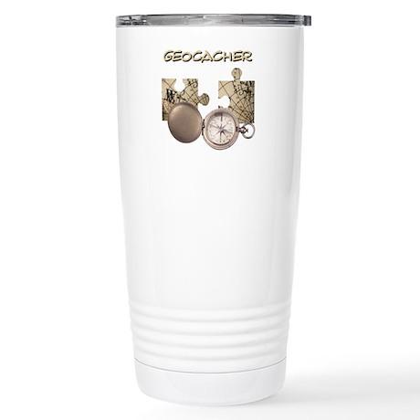 Geocacher Drinkware Stainless Steel Travel Mug