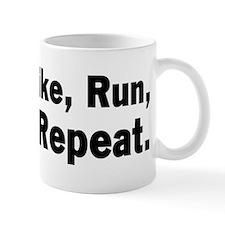 Swim, Bike, Run - Mantra Mug