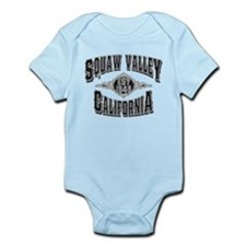 Squaw Valley Black & Silver Infant Bodysuit