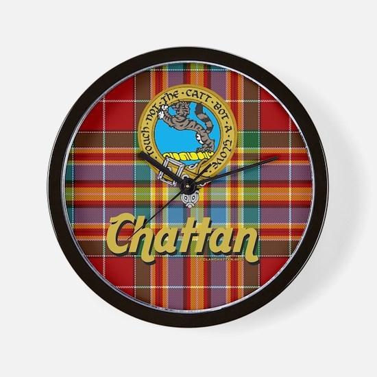 Cool Clan chattan Wall Clock