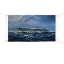 USS John F. Kennedy Banner