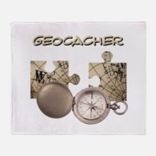 Geocacher Throw Blanket