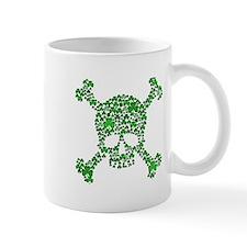 Irish Shamrock Crossbones Mug