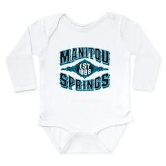 Manitou Springs Black Ice Long Sleeve Infant Bodys