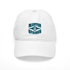 Manitou Springs Black Ice Baseball Cap
