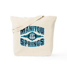 Manitou Springs Black Ice Tote Bag