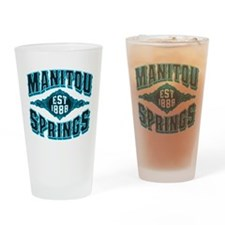 Manitou Springs Black Ice Drinking Glass