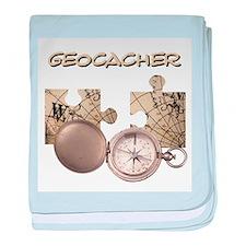 Geocacher baby blanket