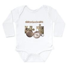 Geocacher Long Sleeve Infant Bodysuit