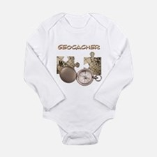 Geocacher Long Sleeve Infant Bodysuit