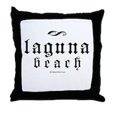Laguna Beach -  Throw Pillow