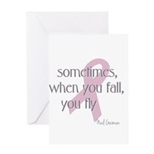 When You Fall You Fly Greeting Card