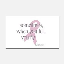 When You Fall You Fly Car Magnet 20 x 12