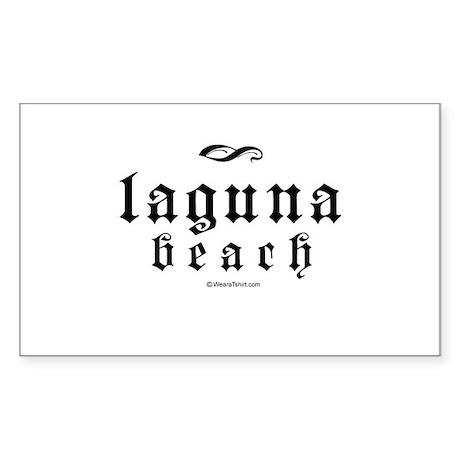 Laguna Beach - Rectangle Sticker