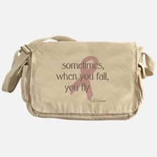 When You Fall You Fly Messenger Bag