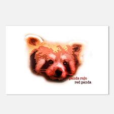 Red Panda / Panda Rojo Postcards (Package of 8)