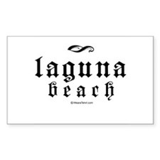 Laguna Beach - Rectangle Decal