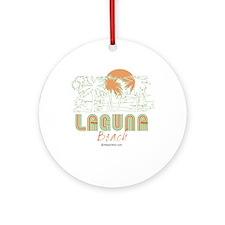 Laguna Beach -  Ornament (Round)