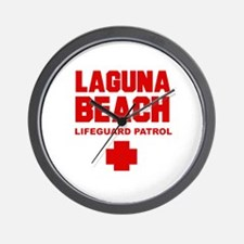 Laguna Beach Lifeguard Patrol  Wall Clock