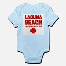 Laguna Beach Lifeguard Patrol  Infant Creeper