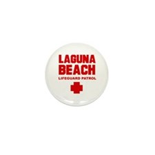 Laguna Beach Lifeguard Patrol  Mini Button (10 pac