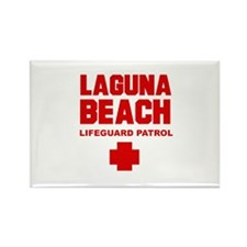 Laguna Beach Lifeguard Patrol Rectangle Magnet