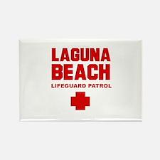 Laguna Beach Lifeguard Patrol Rectangle Magnet