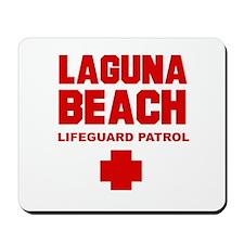 Laguna Beach Lifeguard Patrol  Mousepad