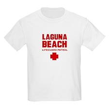 Laguna Beach Lifeguard Patrol  Kids T-Shirt
