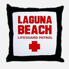 Laguna Beach Lifeguard Patrol  Throw Pillow