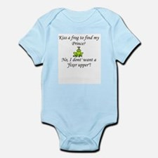 Cute Frog prince Infant Bodysuit