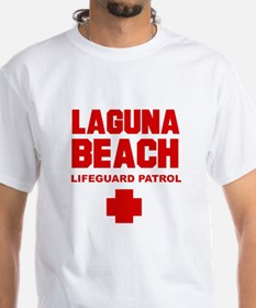 Laguna Beach Lifeguard Patrol White T-shirt