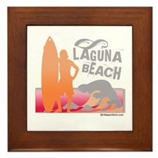 Laguna Beach - Framed Tile