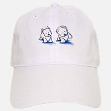 Shadowboxing Westies Baseball Baseball Cap