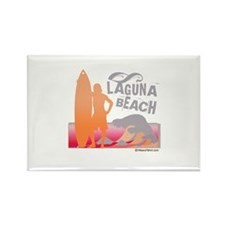 Laguna Beach - Rectangle Magnet