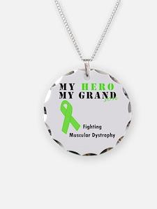 My Hero My Grandson Necklace