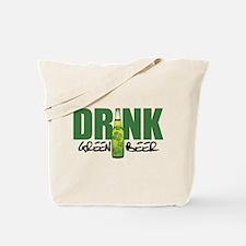 Drink Green Beer Tote Bag