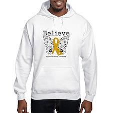 Believe Appendix Cancer Hoodie