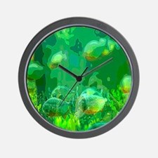 Soleil Poissons Wall Clock