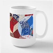 Tumbling Block Patchwork Quilt Mug