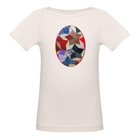 Tumbling Block Patchwork Quilt Organic Baby T-Shir
