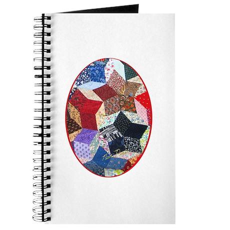 Tumbling Block Patchwork Quilt Journal