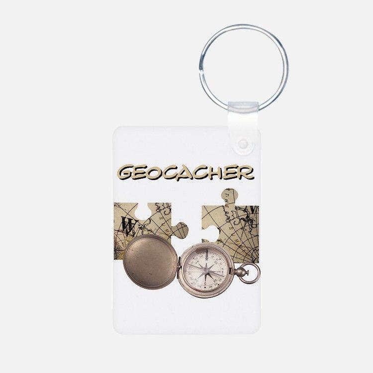 Geocacher Keychains