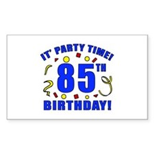 85th Birthday Party Time Decal
